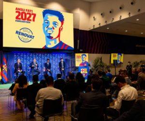 FC Barcelone : Ansu Fati a désormais une clause de rachat à 1 milliard d'euros
