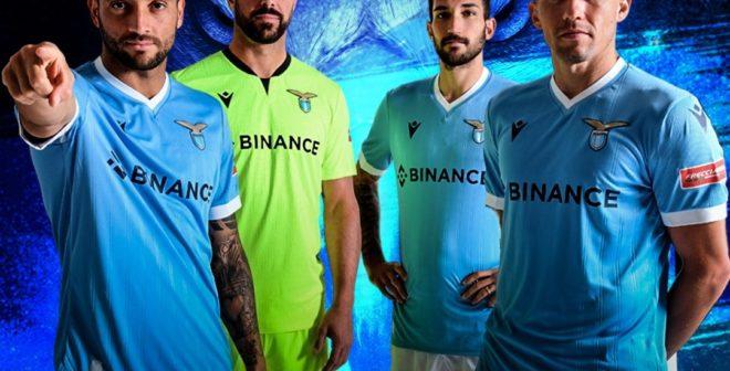 Binance nouveau sponsor maillot de la Lazio, un Fan Token en approche