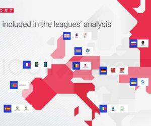 [Etude] 38 équipementiers se partagent les 288 principaux clubs de football en Europe (2021-2022)