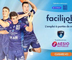 Le Montpellier Handball lance une plateforme d'aide à l'emploi avec AÉSIO mutuelle