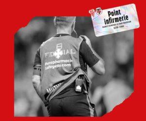 Le Stade Toulousain intègre un sponsor au point infirmerie du club