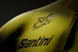 La marque Santini dévoile les nouveaux maillots du Tour de France 2022