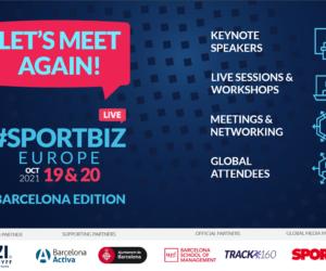 Participez au «SportBiz Europe Live» à distance les 19 et 20 octobre