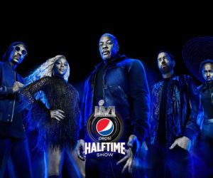 Super Bowl 2022 – Dr. Dre, Snoop Dogg, Eminem, Mary J. Blige et Kendrick Lamar pour le concert donné à la mi-temps (Pepsi Halftime Show)