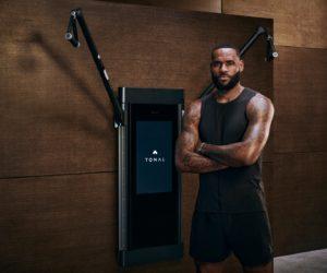 LeBron James nouvel investisseur de l'appareil de fitness Tonal