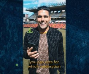 Fan Engagement – Radamel Falcao propose de choisir sa prochaine célébration de but sur Socios.com